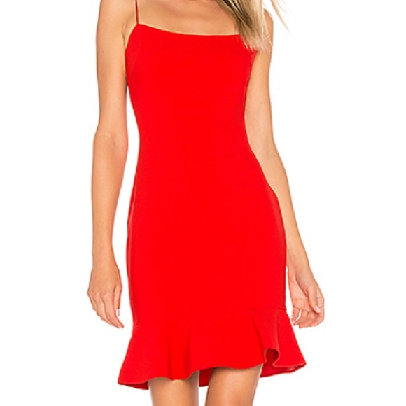 Likely Banks Dress In Scarlet Size 0 Tags On